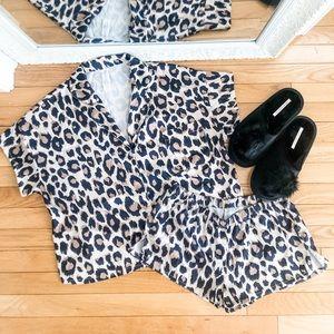 Other - Silky Leopard PJ Set